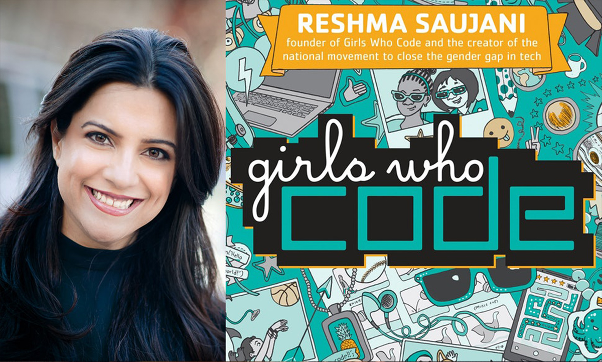 Girls Who Code Founder Reshma Saujani's New Book Promises To Inspire A New Generation Of Female Coders   Bustle | By Kerri Jarema