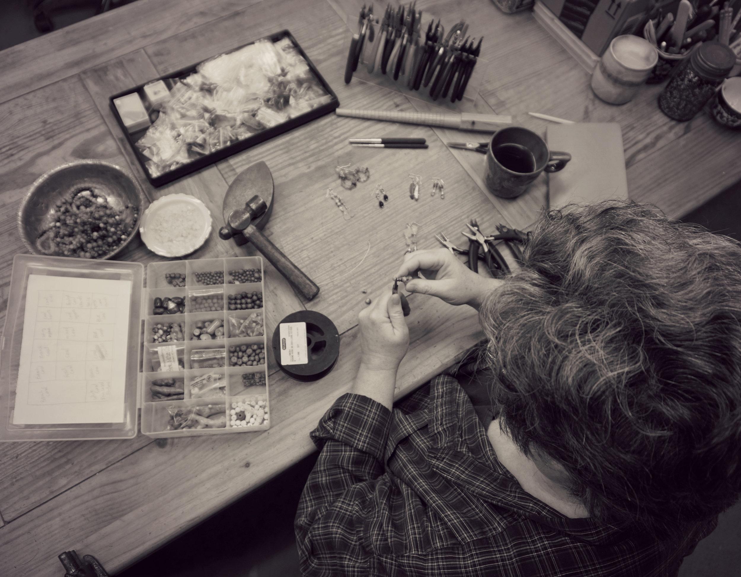 ... in my home studio