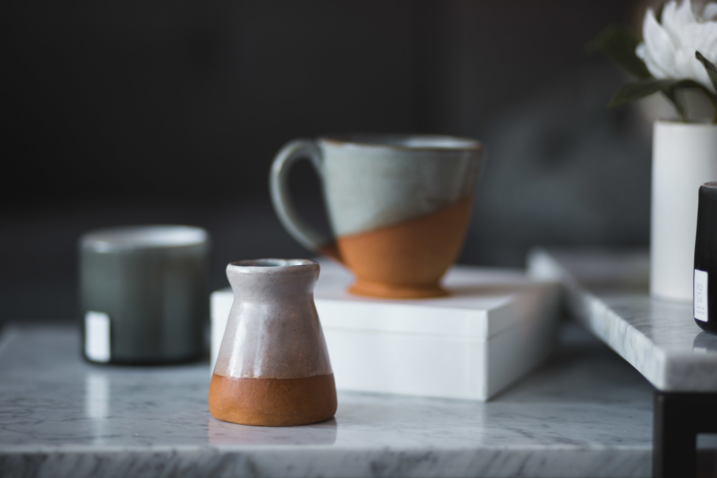 Photography by Allie Wang for a potter friend in order to build a starter portfolio
