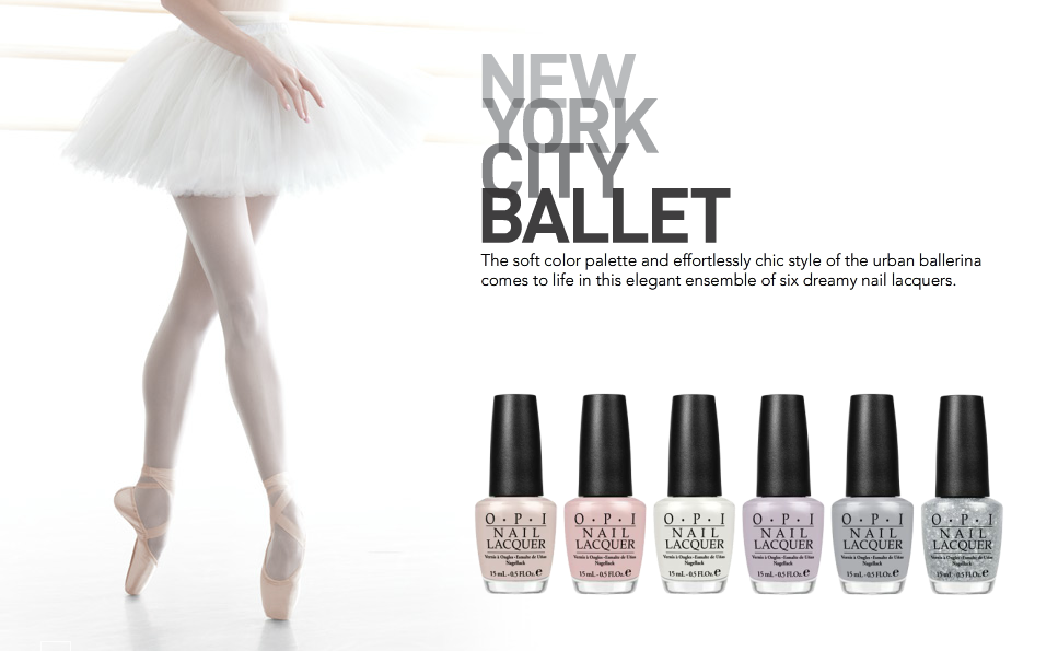 New York City Ballet x OPI Nails - Brokered partnership and product collaboration with New York City Ballet + OPI Nails to create custom line of nail polishes distributed worldwide.
