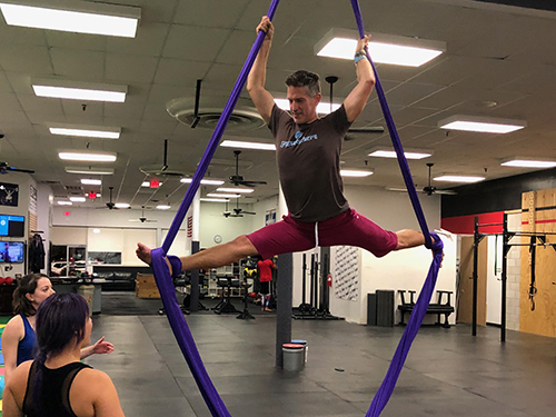 Circus Arts - This is where you can combine all sort of fun arts including: silks, yoga swings, Lyra, trapeze, poi, fire poi, and all sorts of fun cool playtime.