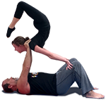 Acro Yoga Scorpion