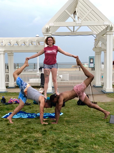 Acro Yoga - Group Pose