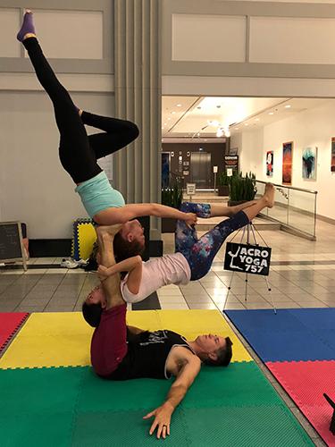 Acro Yoga - Group Pose