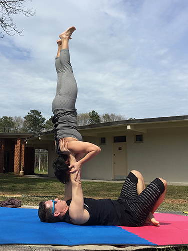 Acro Yoga - Shoulderstand Free