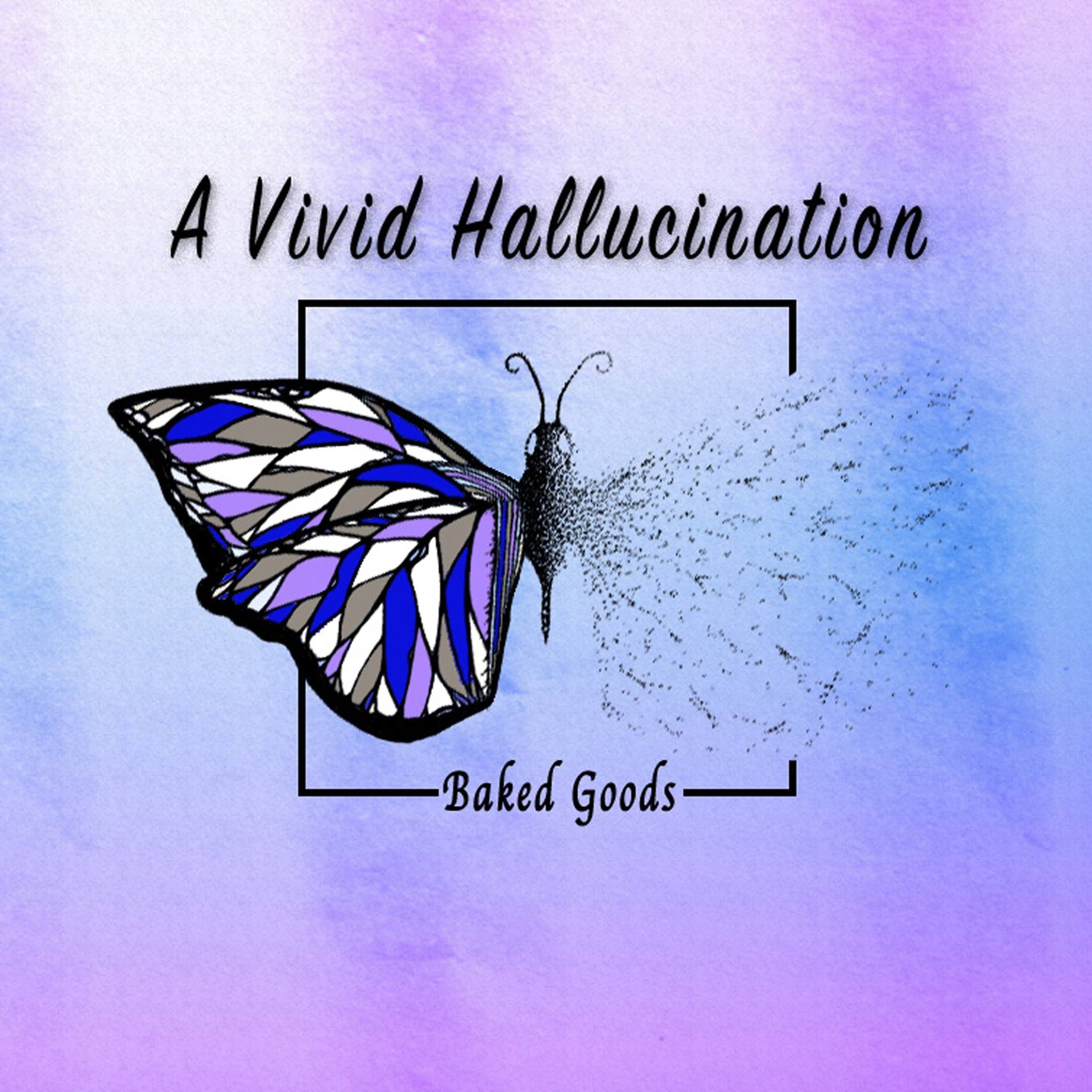 A Vivid Hallucination  is a sonic journey that accentuates a slight separation from reality, whether that be through anxiety, mental illness, or whimsical daydreaming. Each of these songs focus on the voices both inside one's head and outside. The lyrics and orchestrations attempt to capture the innate contradictions of mental health issues and present them in a way that the listener can feel, wrestle with, and enjoy. Led by booming drums and a captivating saxophone, Baked Goods mixes together a concoction of technical performance, excitingly eccentric rhythms, and stimulating lyrics that makes  A Vivid Hallucination  a record every music-lover can enjoy. The album was engineered, mixed, and produced by frequent collaborater James Meslin (Dream Theater). It was recorded under the guide of Richie Cannata (Billy Joel) in his studio, Cove City Sound Studios.