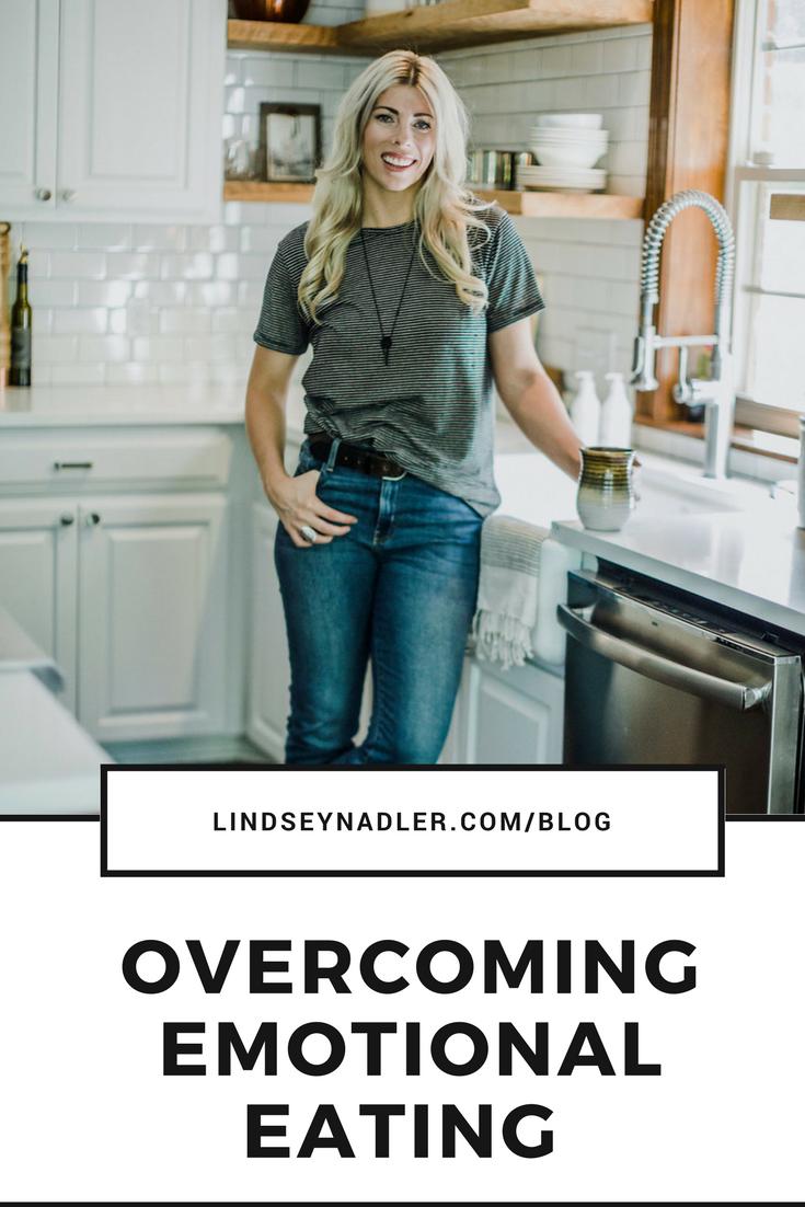 Overcoming emotional Eating - lindseynadler.com/blog
