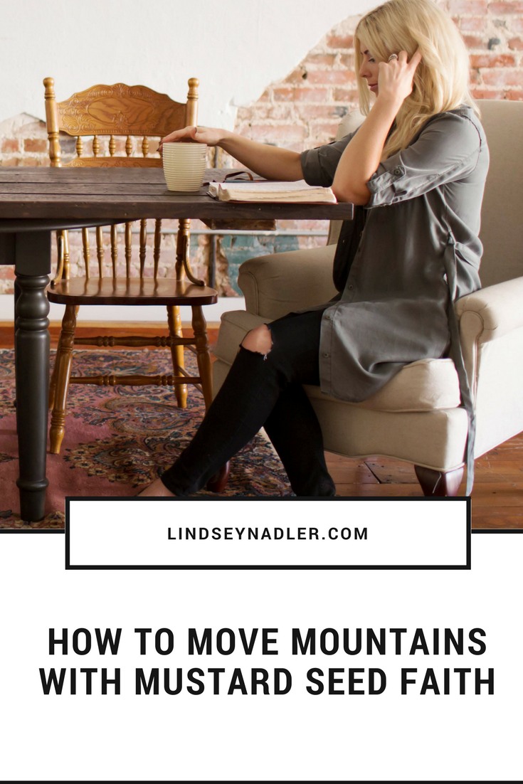 Speaking To Mountains with Mustard Seed Faith  lindseynadler.com/blog