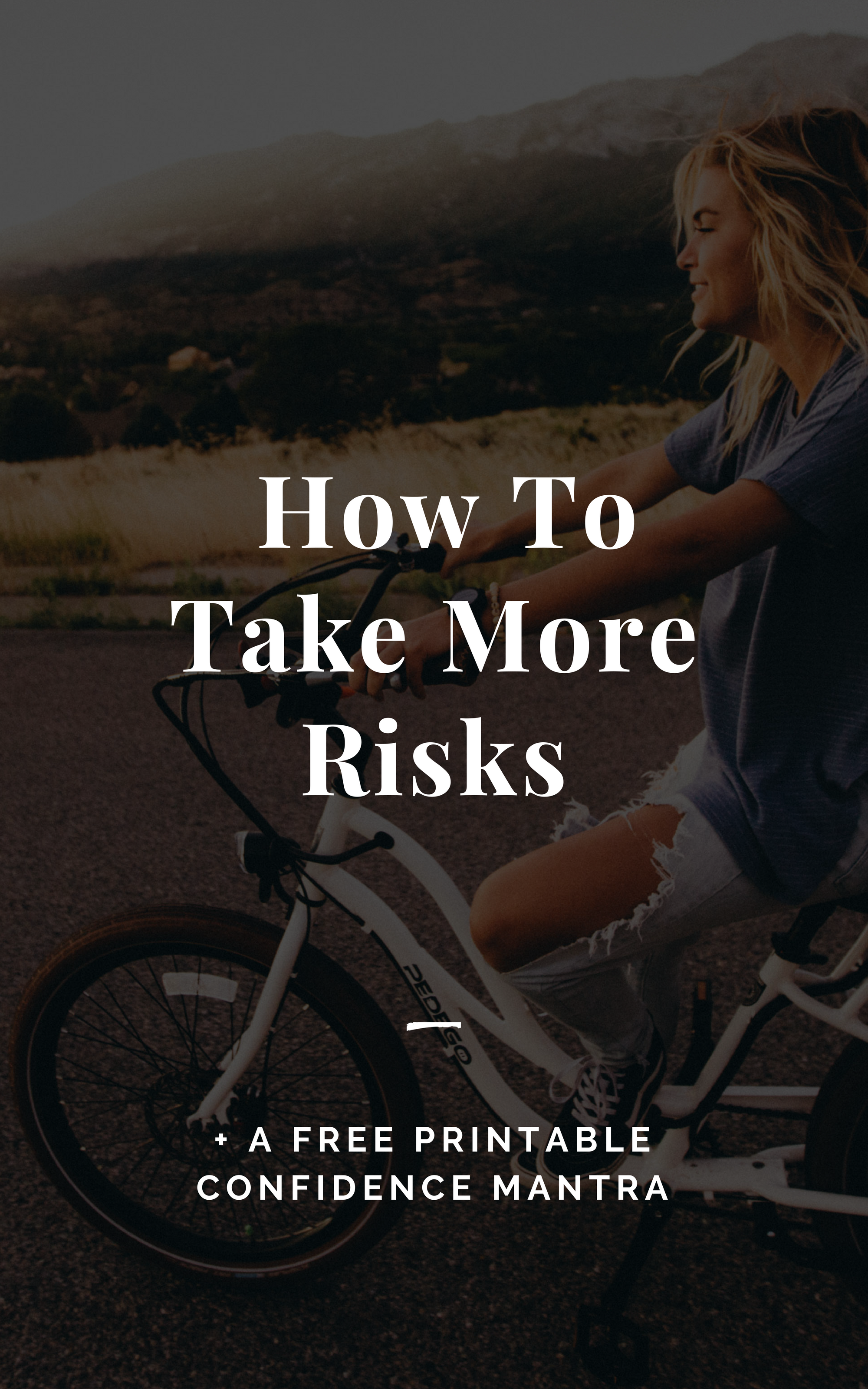 Embracing A Life of Risk