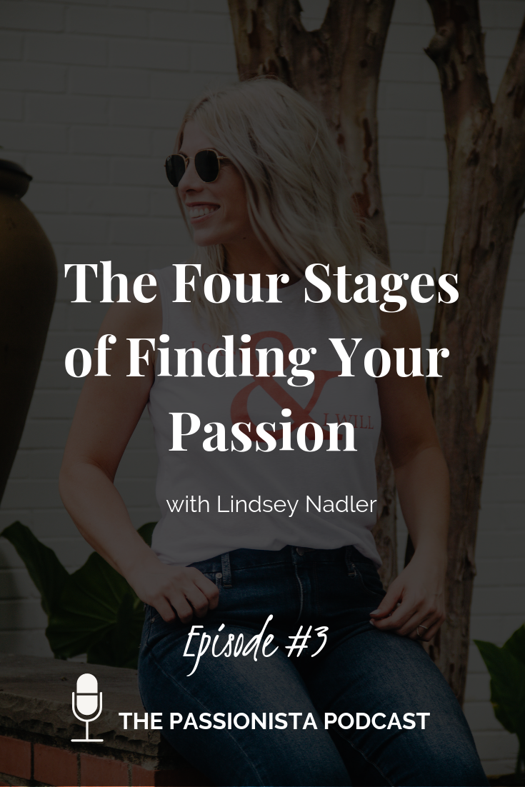 the fours stages of finding your passion