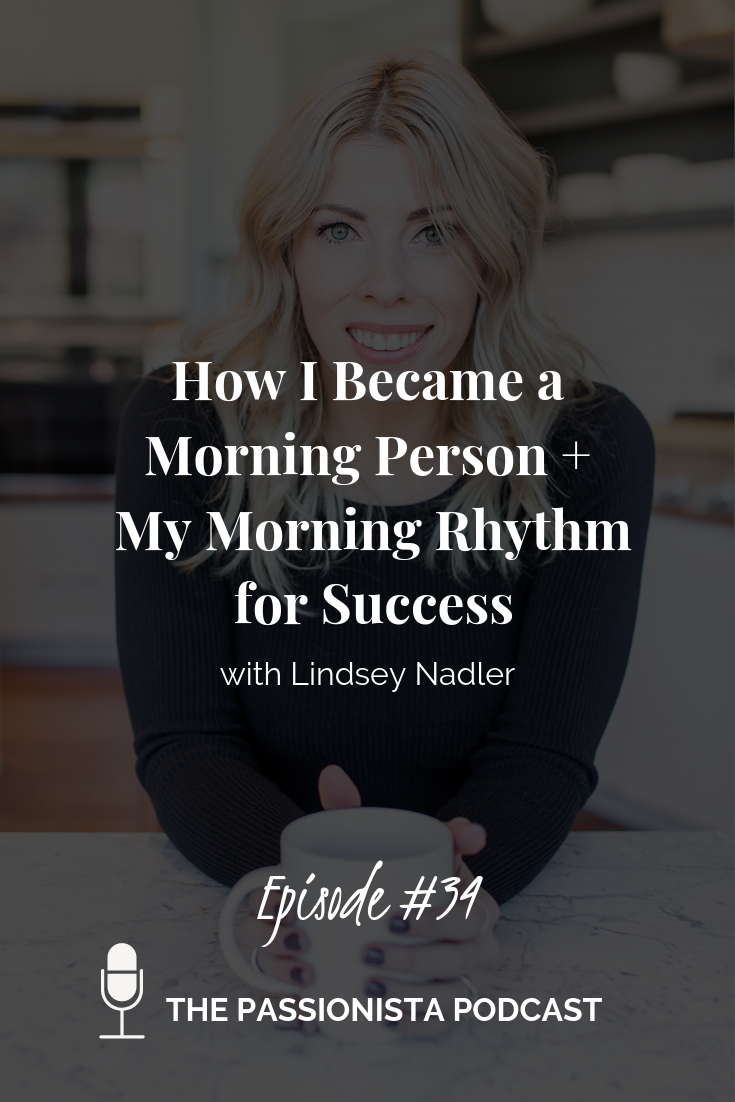 How I became a morning person + My morning rhythm for success