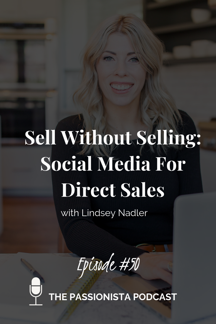 sell without selling social media for direct sales