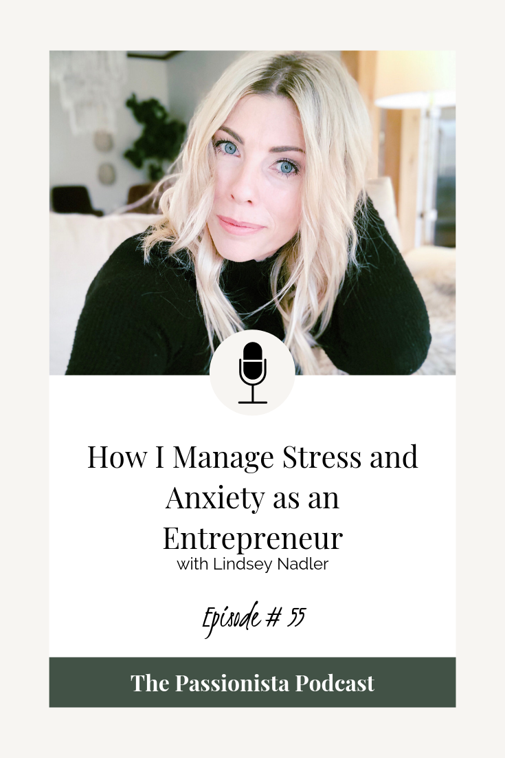 How I Manage Stress and Anxiety as an Entrepreneur