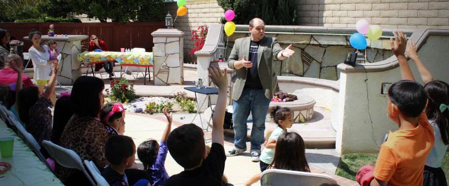 Kris Sheppard Thousand Oaks Birthday Party Magician
