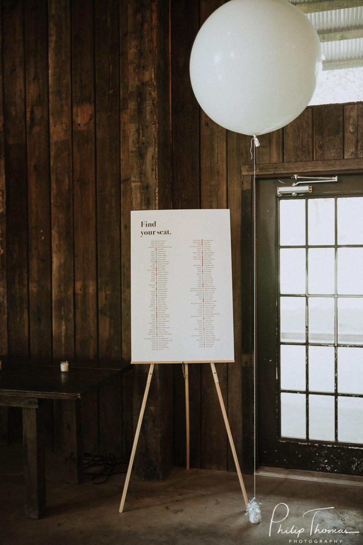 event barn - Indoor Reception Area