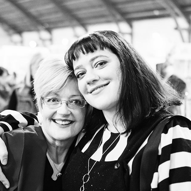 As my mum once said to 7 year old me, within my favourite song at the time, was some good advice to live by...'Get what you give' New Radicals 💕 I'll neva 4get that 🌟 But for serious, I'm lucky to have this mother of mine. You have never questioned my career path, you have always nurtured every dream of mine and been my biggest cheerleader. You embarrass the shit out of me but I love ya. 📷 by @scottbaldwin24  #happymothersday #thanks #newradicals #dontbeafraidtoliiiiiiiive