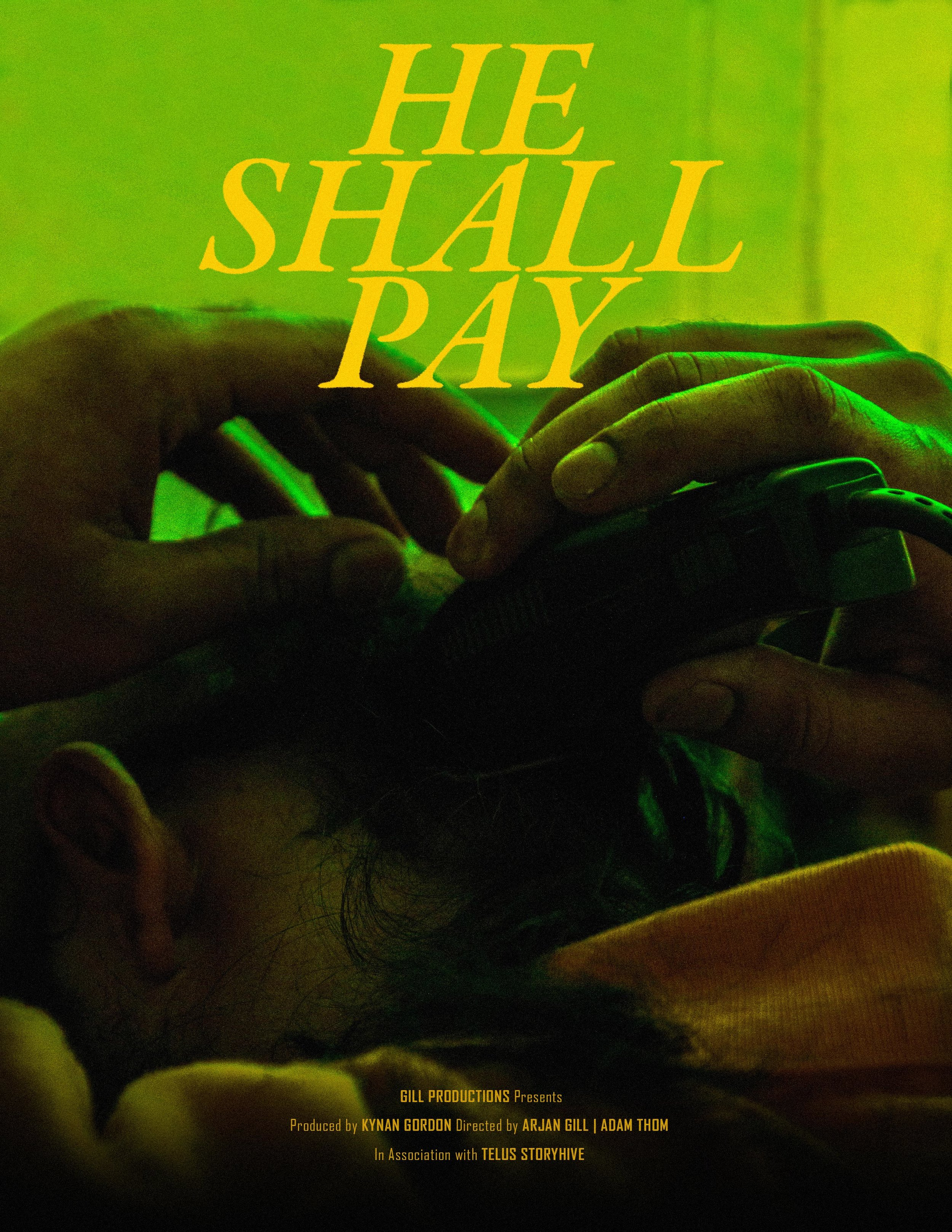 He Shall Pay Poster