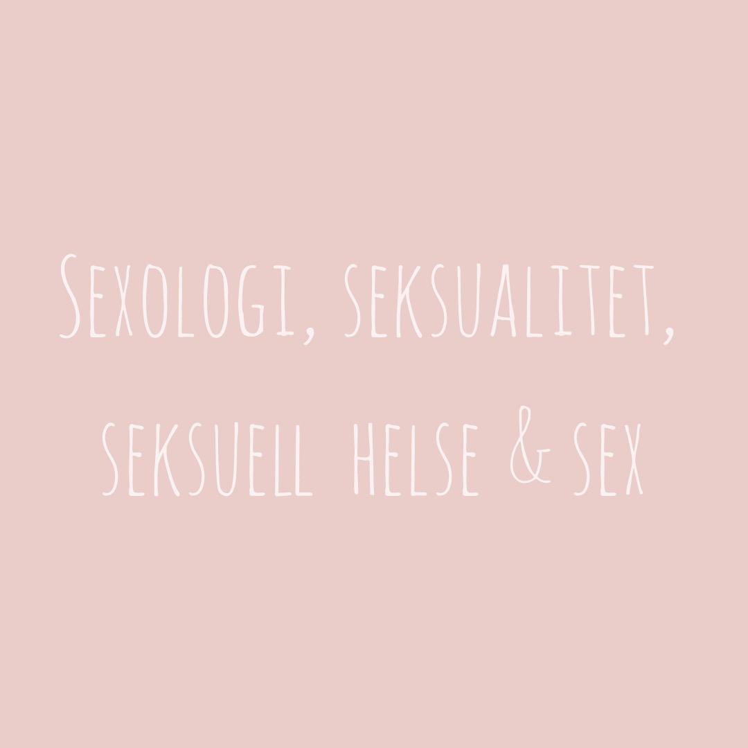 Les mer om forskjellene mellom sexologi, seksualitet, seksuell helse og sex  her.
