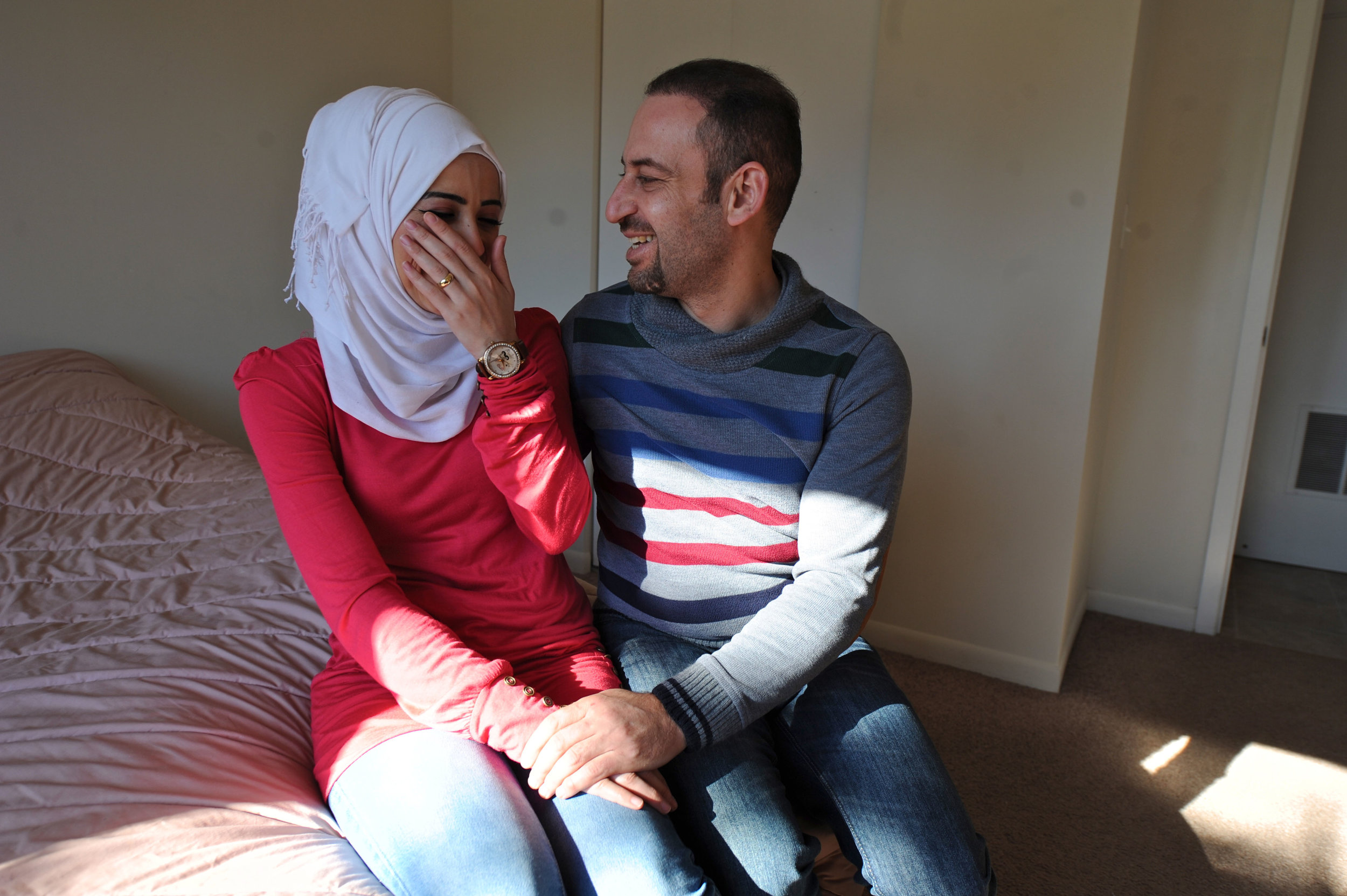 Homs Family Finds a Home in Illinois
