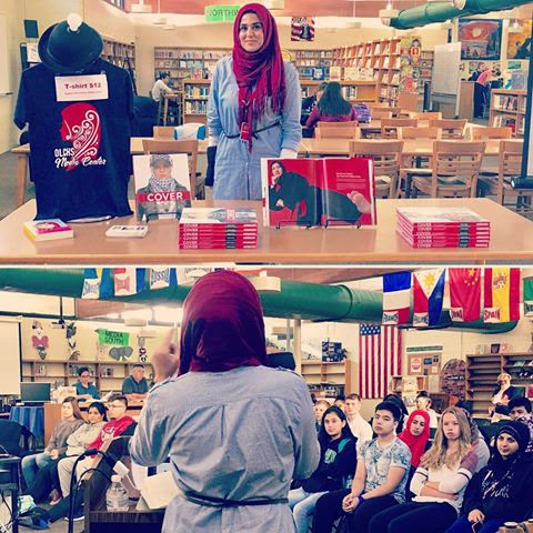 International Girls Day - What an honor to be invited to speak at a public high school today about Muslim women. We covered many topics from the very first Muslim women, Islam as a feminist religion, how Prophet Mohammad (peace be upon him) helped with household chores, hijab, the iCOVER book, Islamophobia, and much much more.This was a much needed platform. So proud of Oak Lawn High School for representing diverse authors to their public school.