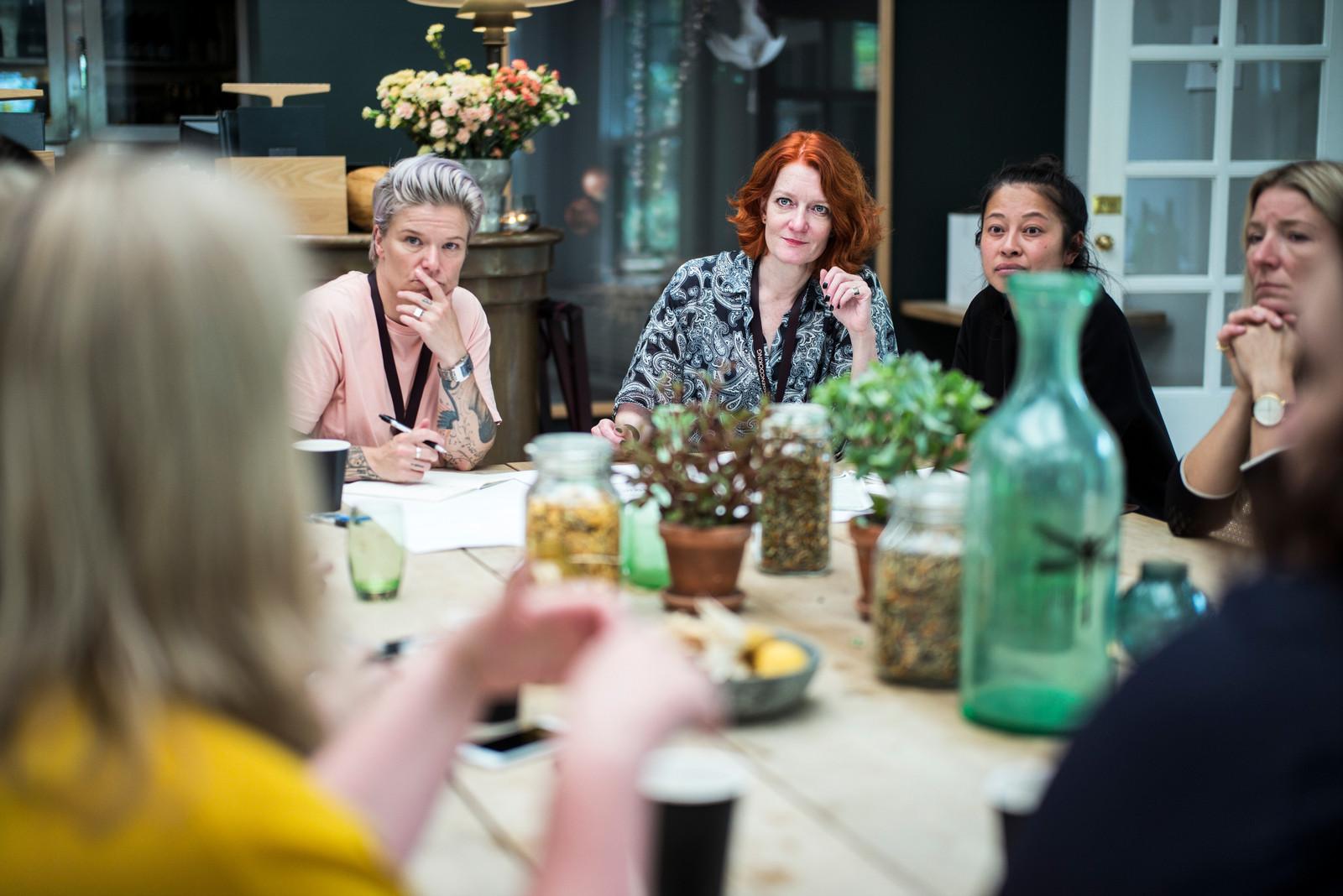 Foto: Rasmus Flindt Pedersen for  Freja Symposium , der er initieret af  FOOD  og arbejder for at fremme ligestilling i den nordiske hotel- og restaurantbranche.