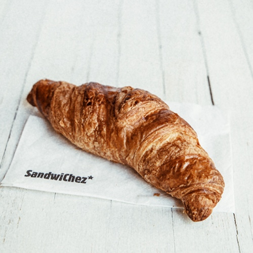 Detail 23 - Our croissants are made with butter. The Catalan tradition is to make croissants with lard, however, we think that French butter croissants are more appetising, and that's why we only sell this variety.