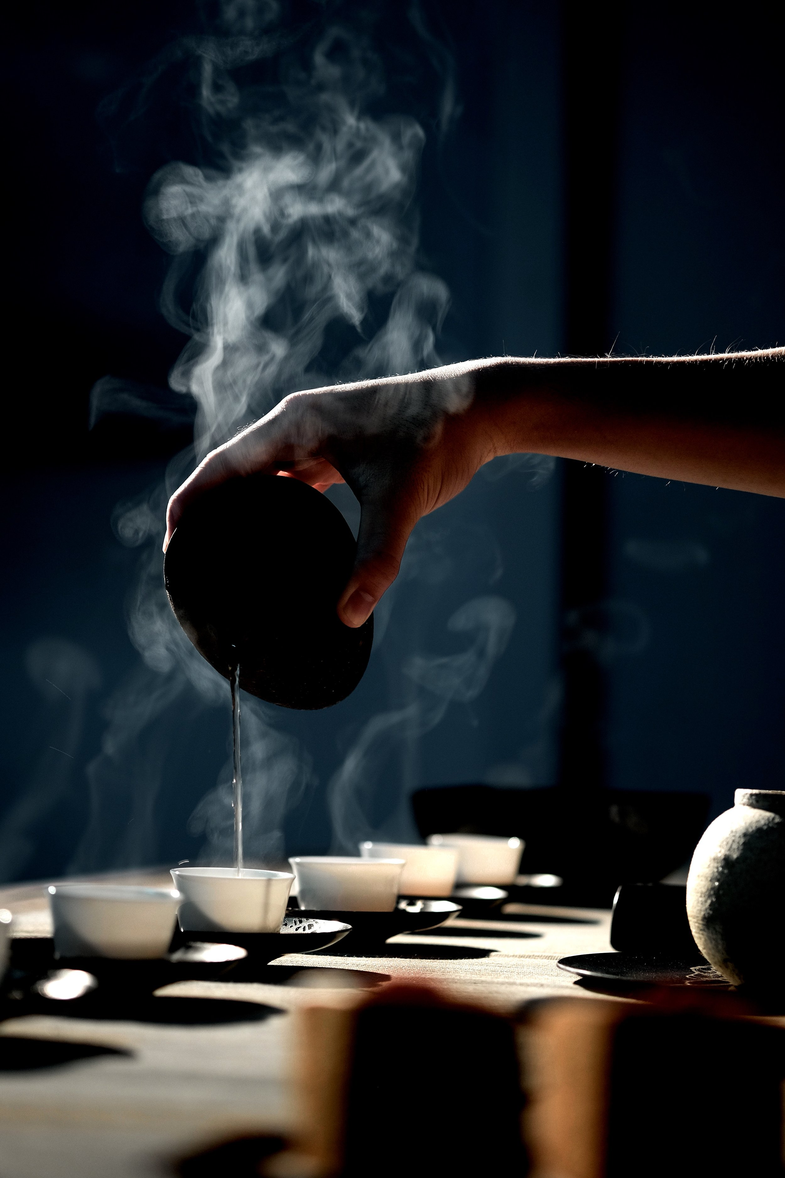 tea collection - THE TEA MENU. CURATED BY TEA SOMMELIER MOMO QIANG, INCLUDES HIGHLY RARE VARIETIES NORMALLY RESERVED FOR PRIVATE COLLECTIONS,HUNDRED YEAR OLD PU'ERH, 龙井, AND VARIETIES FORMERLY ONLY SERVED TO ROYALTY.