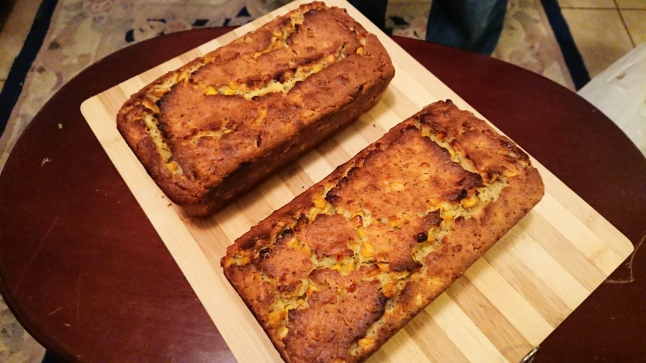 INTRODUCING - SABI'S CORNBREAD!!Try the new addition to the kitchen!