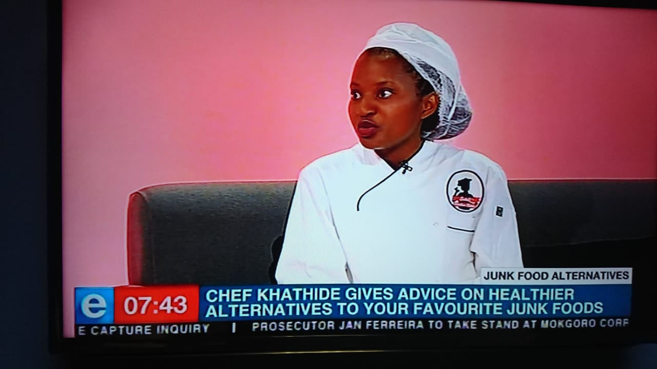 I had a wonderful time at  ENCA, showing people how they can still have a healthy diet, without compromising on taste!