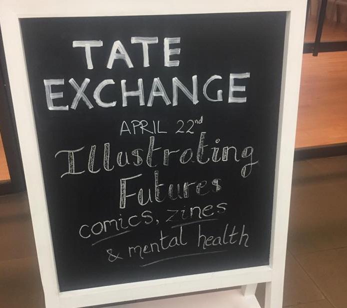 - Illustrating Futures - 2017, Tate Liverpool, Liverpool