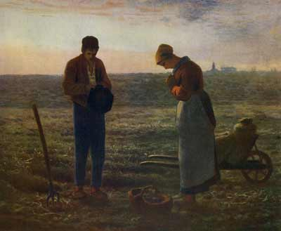 The Angelus by Jean-François Millet is closely linked to the origins of the resale right. After the artist's death the value of the work rose significantly and the seller of the work made a handsome profit. But the artist's heirs were destitute, prompting lawmakers to act. The artist's resale right is now recognized in around 80 countries. Visual artists are calling for its universal application (photo: Ivyclose Images/Alamy Stock Photo).