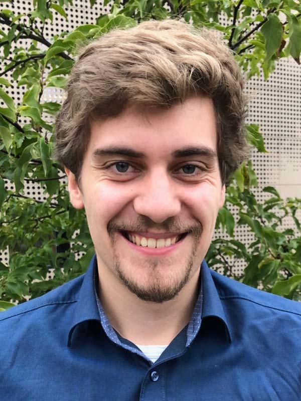 Marvin Kähnert, ph.d. student Photo: Anna Kathinka Dalland Evans