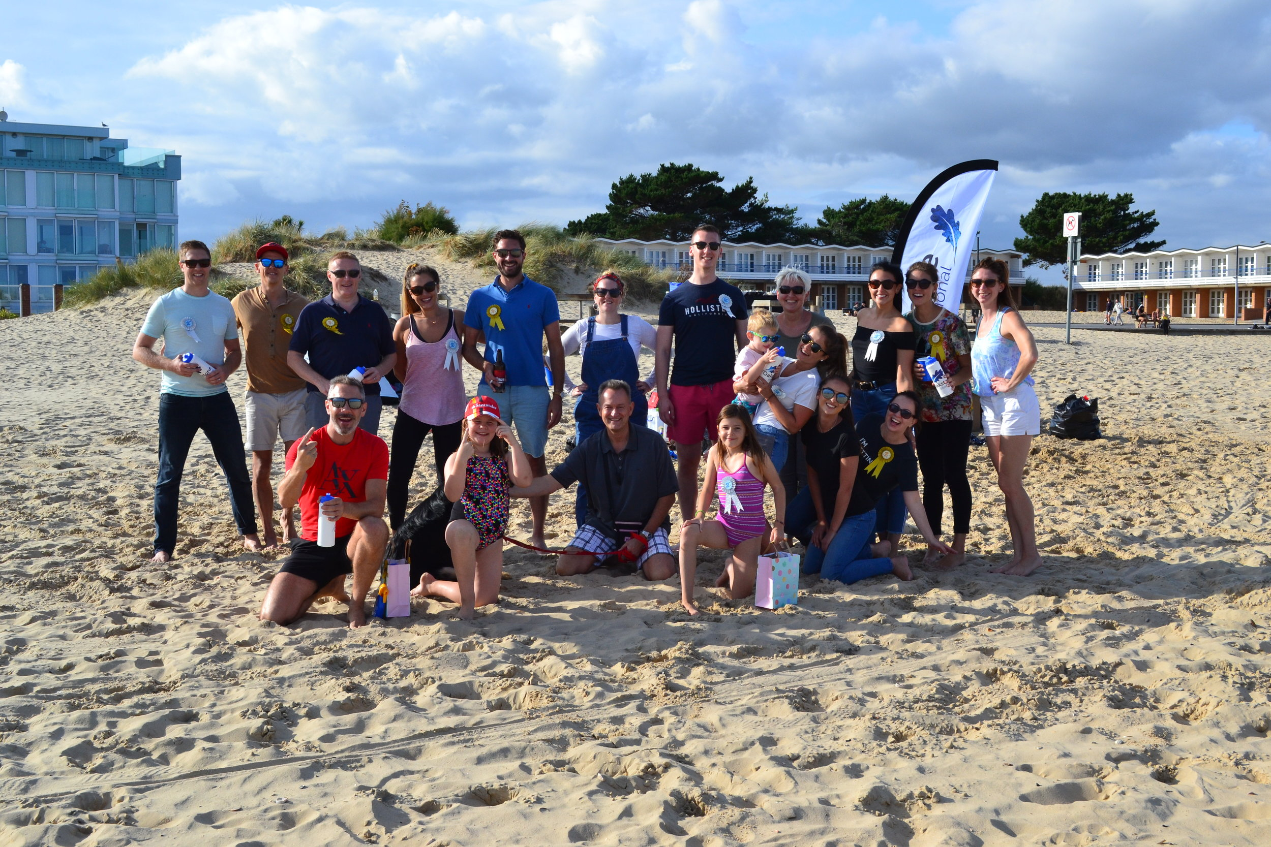 Oakstone International Beach bbq