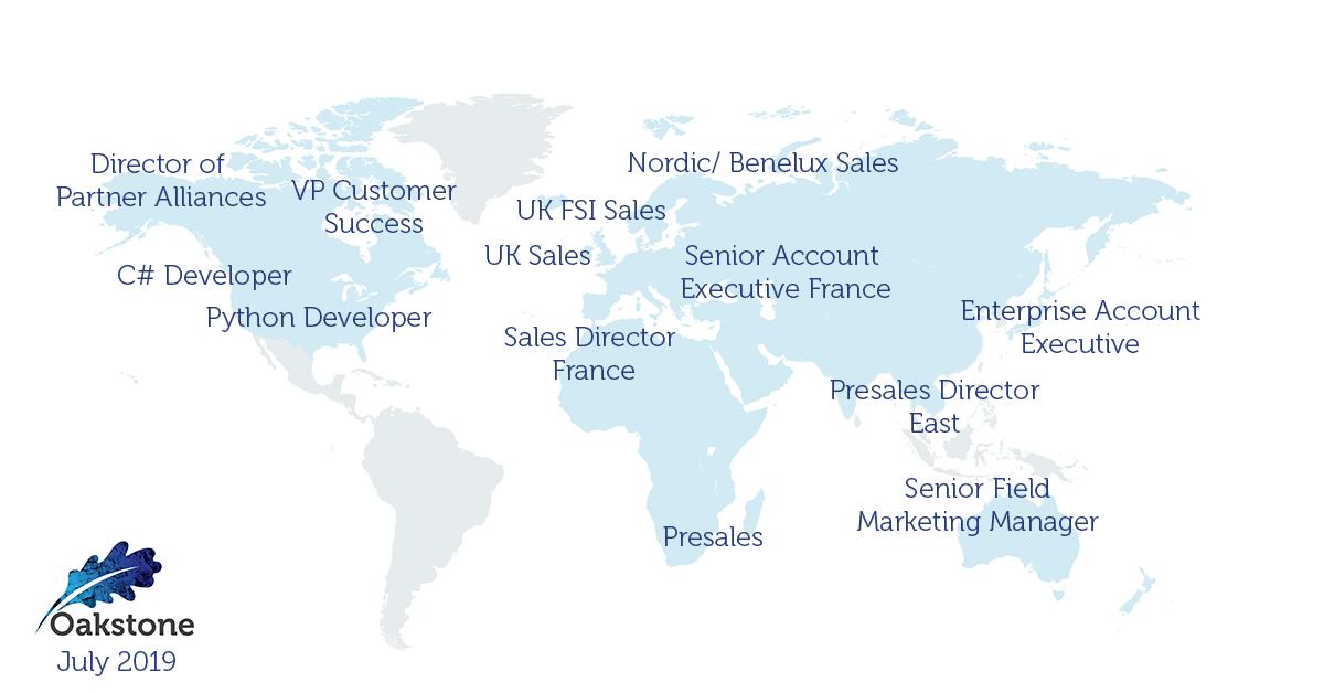 oakstone international executive search july 2019