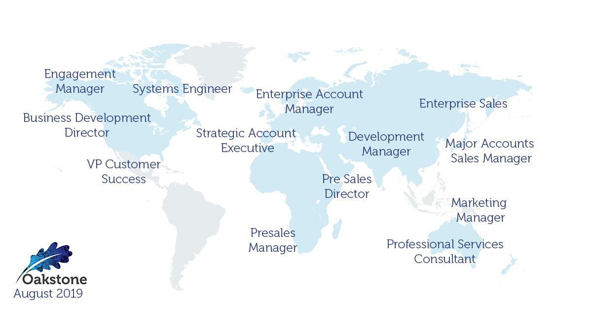 oakstone international executive search august 2019