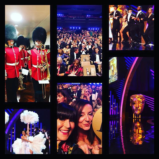 Some glorious #BAFTA moments so far tonight! So much incredible talent here. What an honour...💕