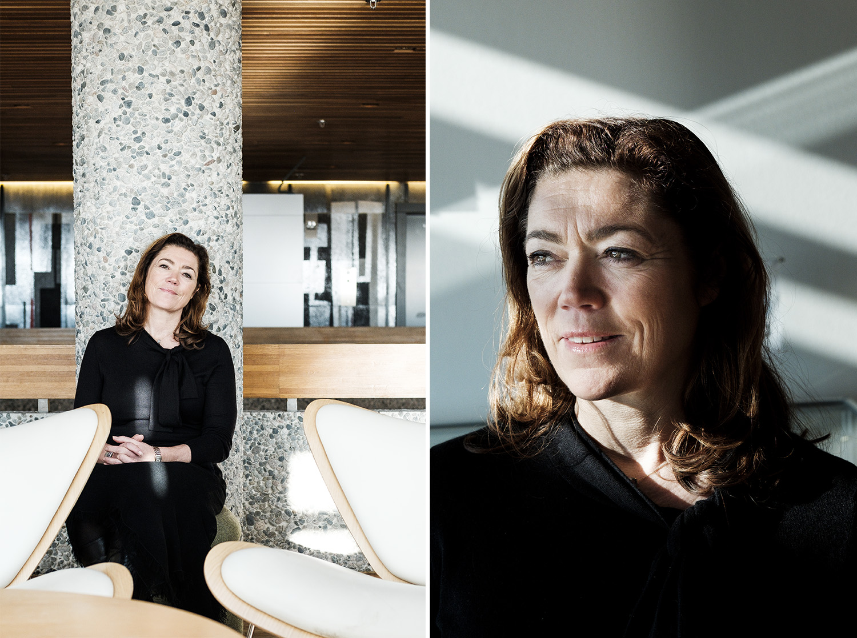 CEO of  The Confederation of Norwegian Enterprise, Kristin Skogen Lund for Dagsavisen