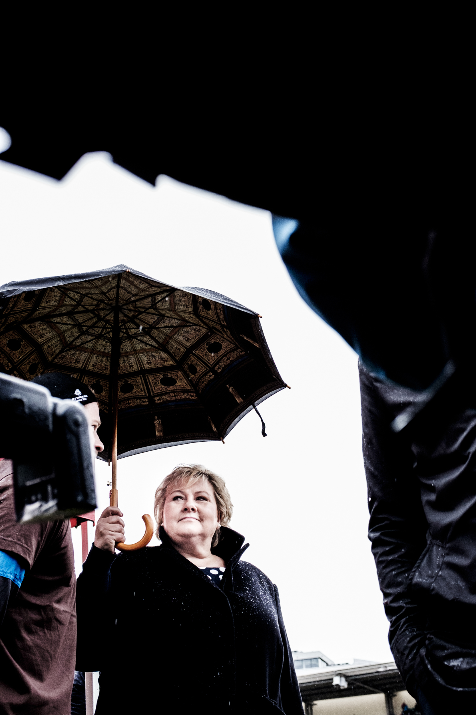 Leader of the Conservative Party, Erna Solberg