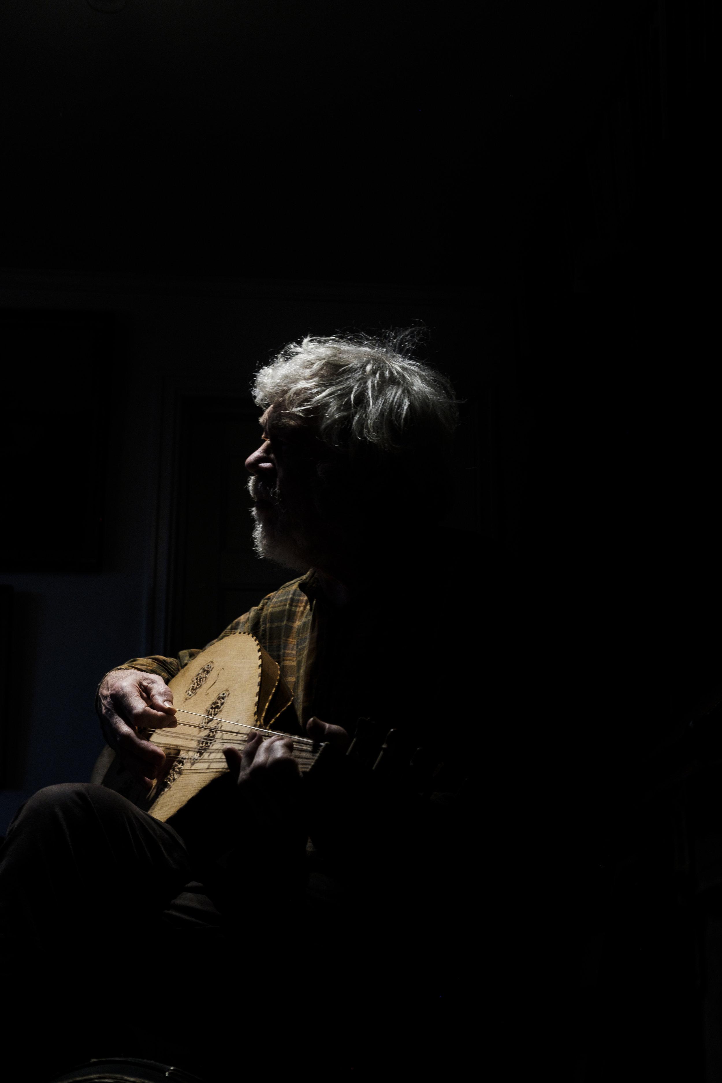 Musician Sverre Jensen