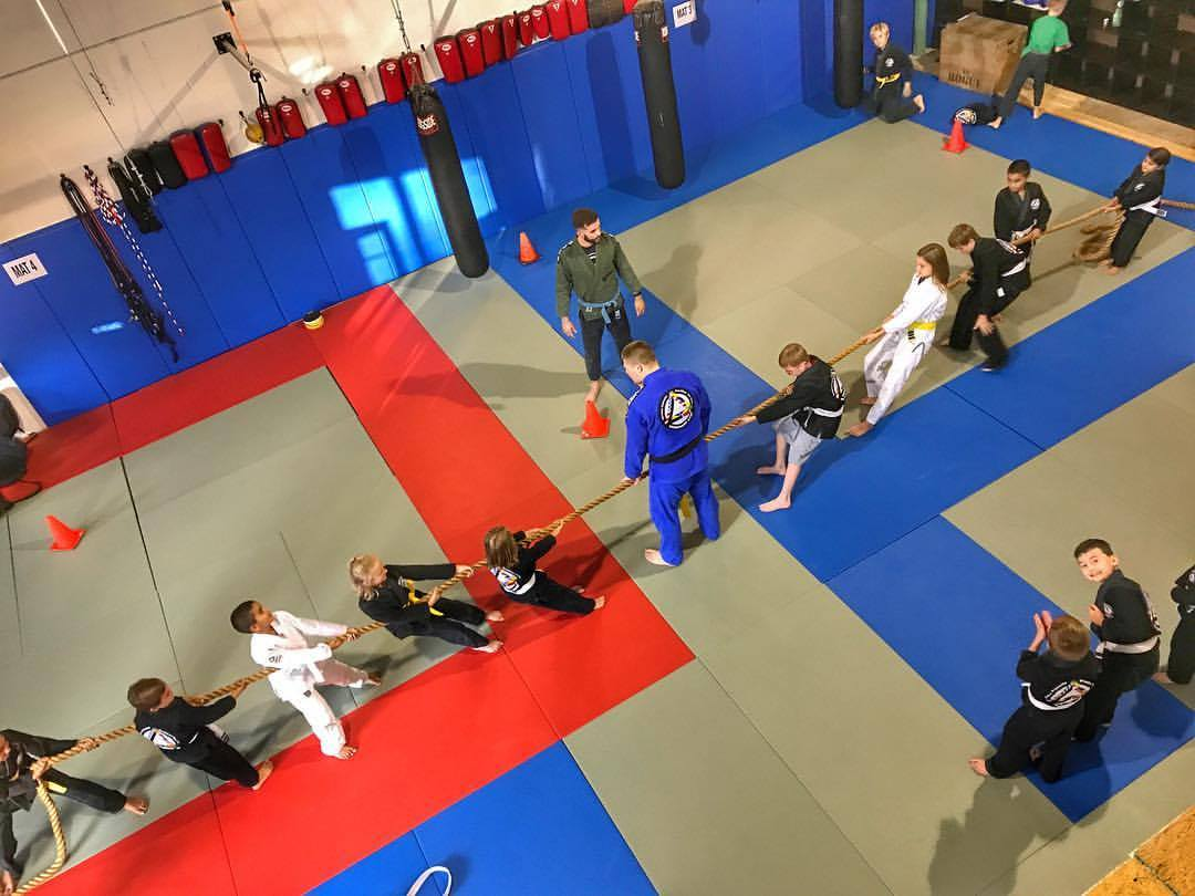KIDS BJJ - Our kids classes meet Monday, Wednesday, and FridayWe have 4-8 year old classes at 5:30 pm and 9-13 year old classes at 6:15pmMonthly dues are $145
