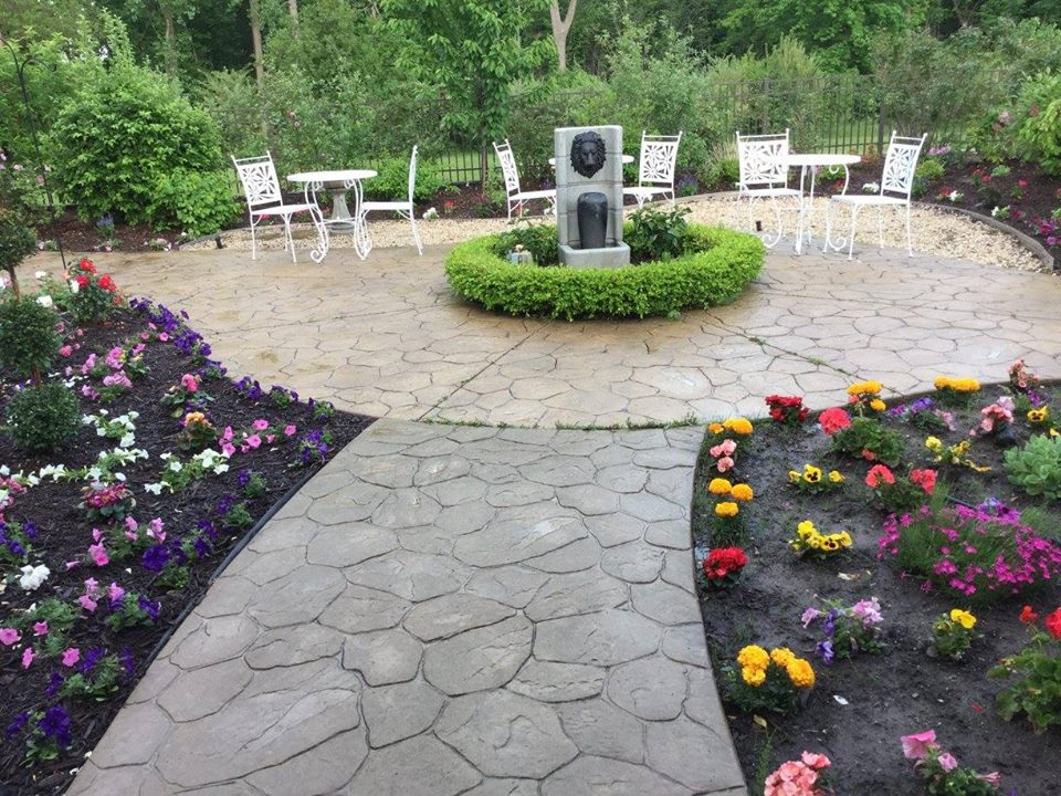 Our flower garden provides beauty and place to sit out and enjoy nature.