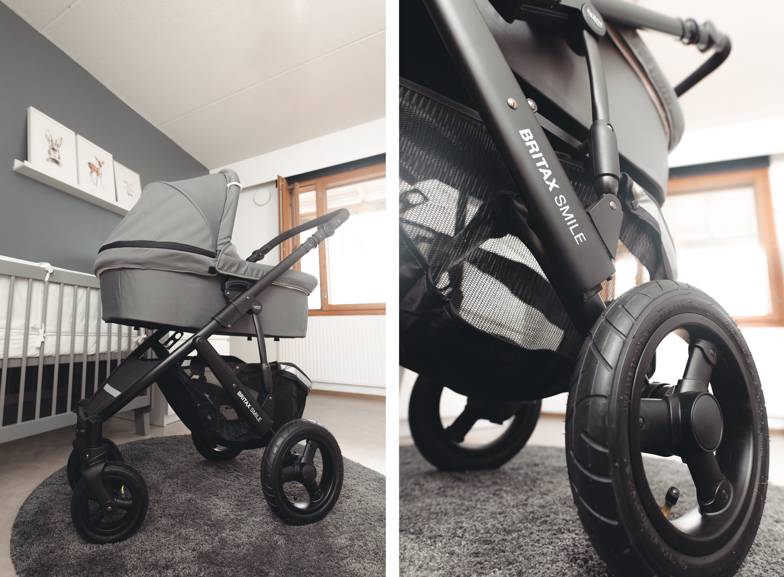 Steel Gray - Britax Smile 2