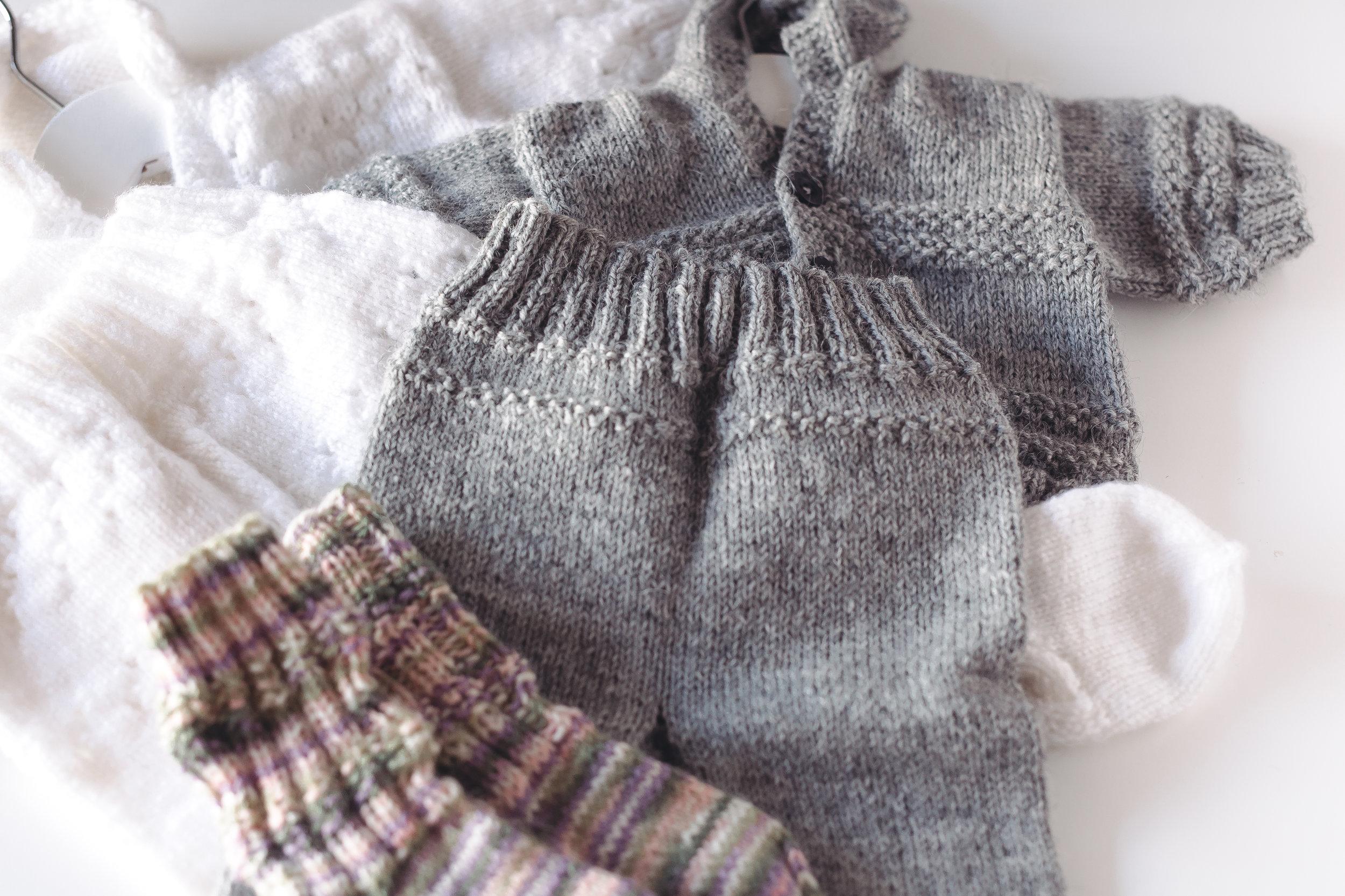 Minun mummoni kutomat villavaatteet ovat niin suloisia ja tarpeellisia talven tullen.
