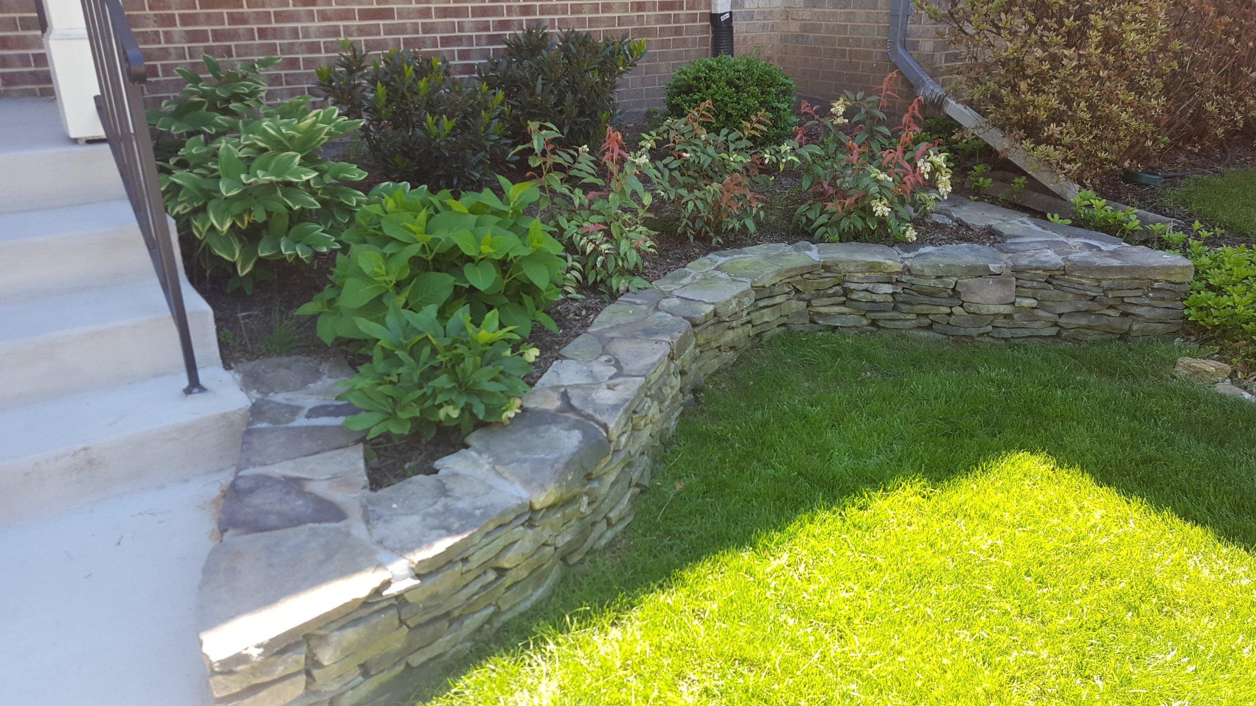 Shade Garden with Fieldstone Retaining Wall (1).jpg