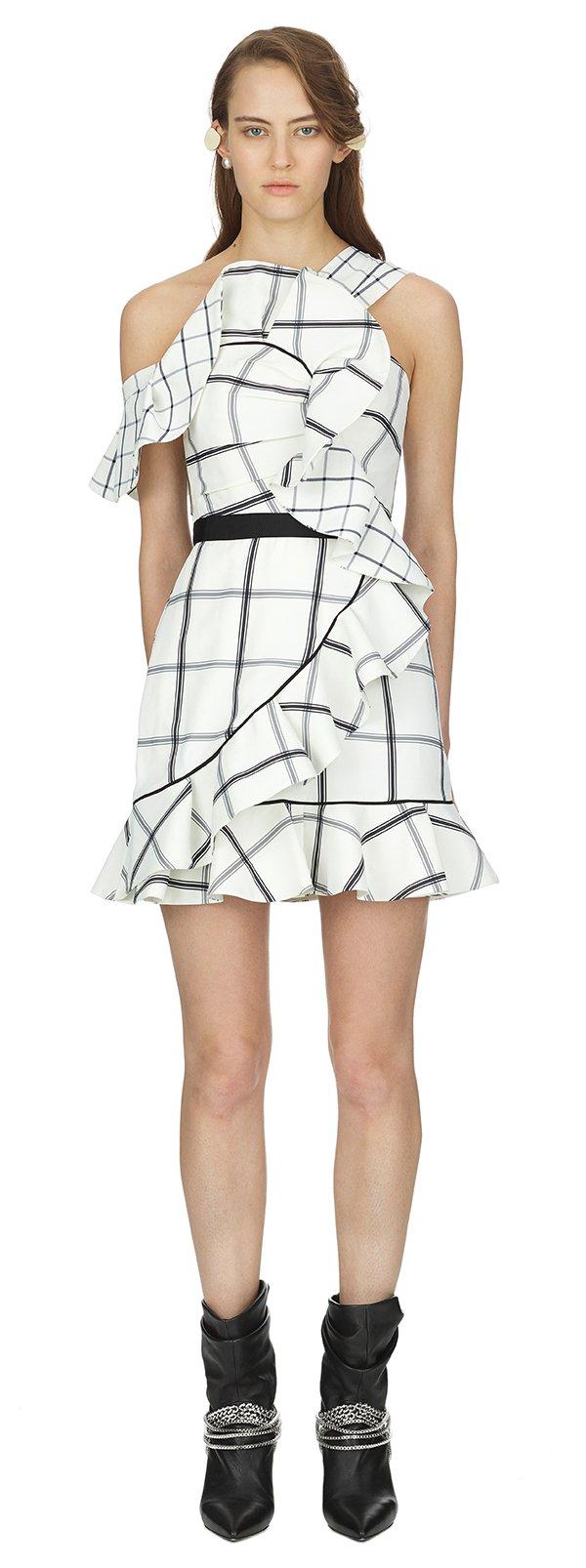 sp18-092s-01- Frill Check Mini Dress.jpg