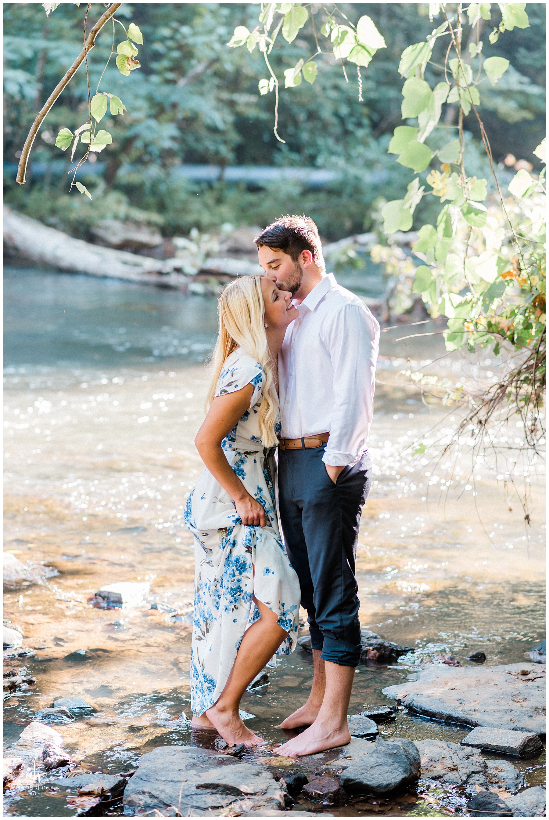 Barrington Hall, Roswell Georgia, Atlanta Engagement, Roswell Engagement, Barrington Hall Engagement, Southern Engagement, Roswell Mill, Roswell Mill Engagement, Vickery Creek