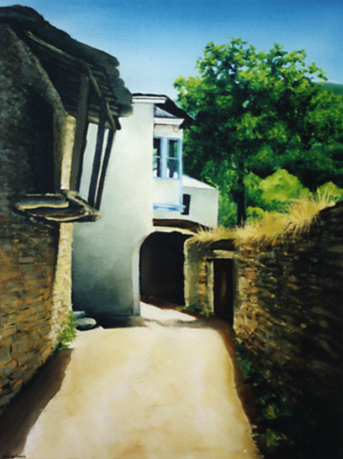 Copy of Small Village, Galicia