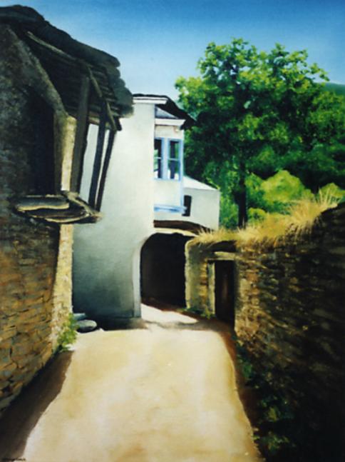 Small Village, Galicia