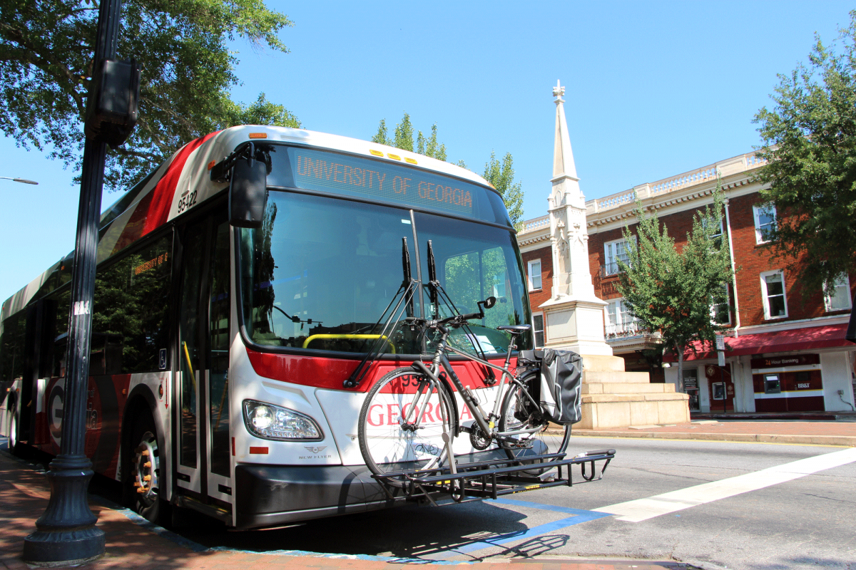 UGA Bus: Image courtesy of uga.edu