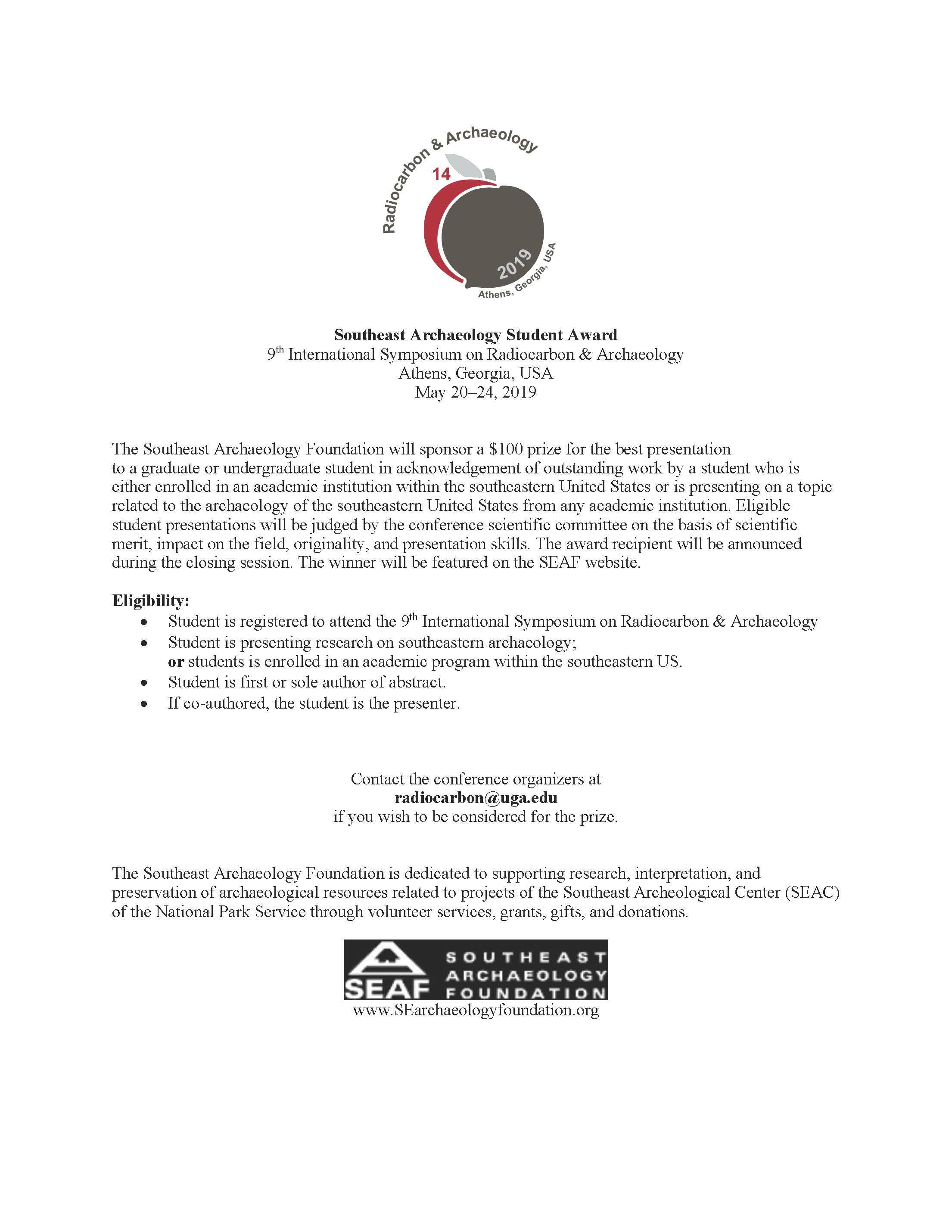 Southeast Archeology Student Prize Award.jpg